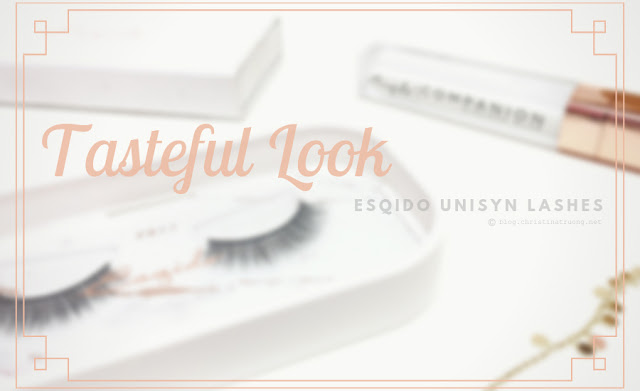 Esqido Unisyn Synthetic False Eyelashes PB & J Companion Eyelash Glue Review