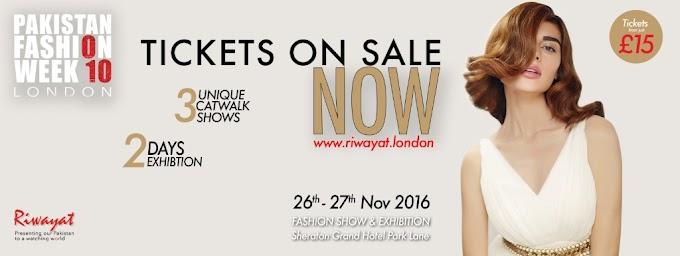 Pakistan Fashion Week London 26th - 27th November 2016