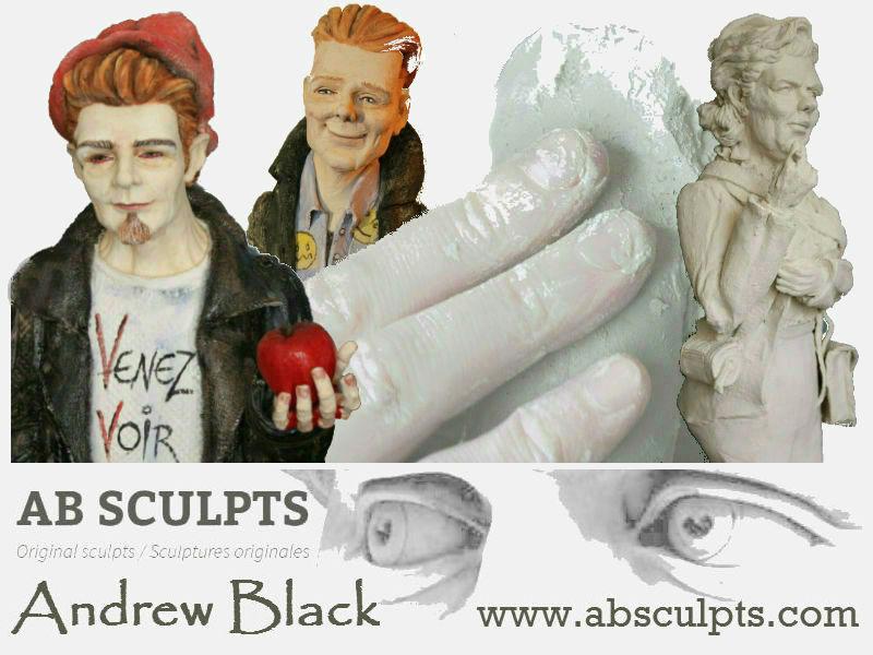 Andrew Black sculpteur