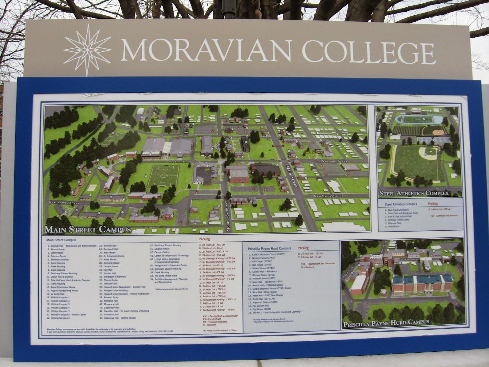 Moravian Campus Map.Tour College Moravian College Bethlehem Pa