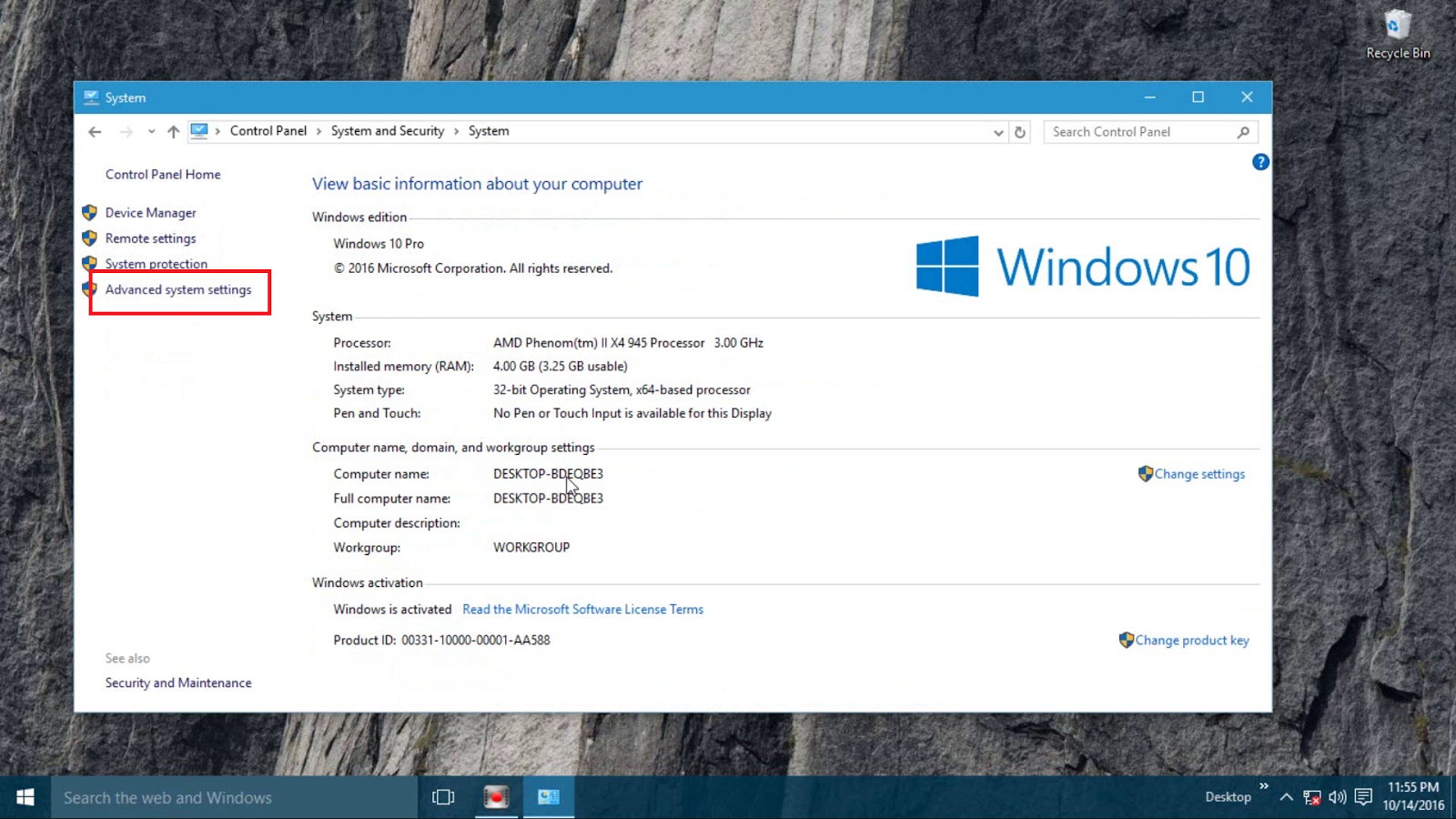 how to make windows 10 default boot