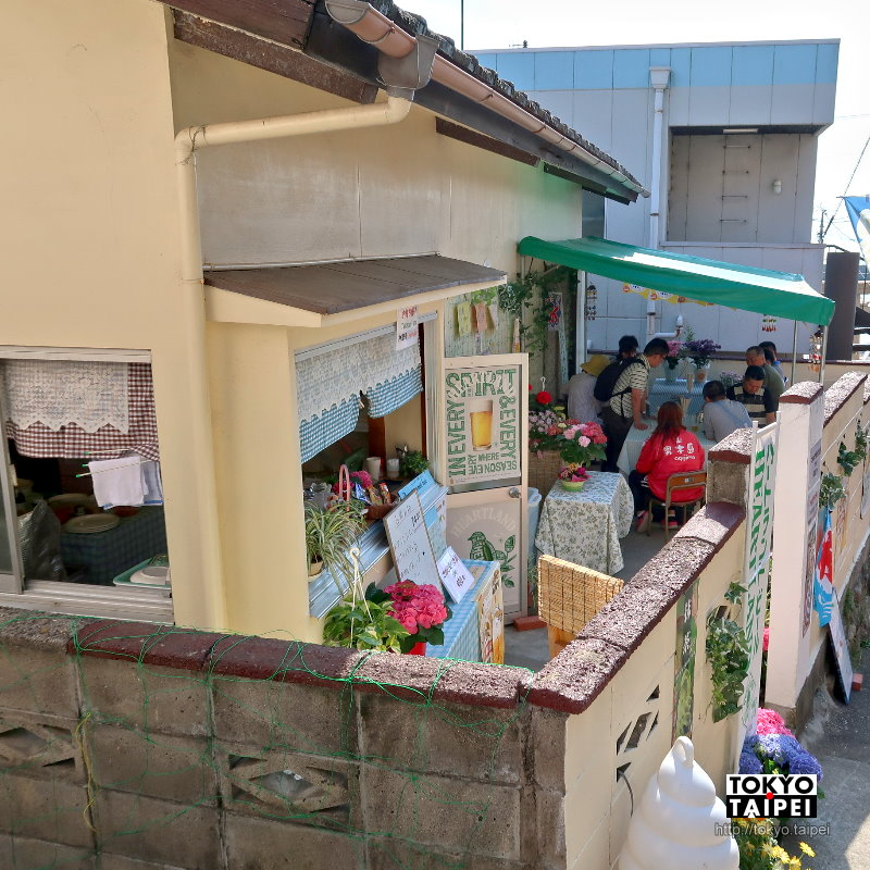 【男木人】在島民家的庭院野餐 享受好吃的咖哩飯