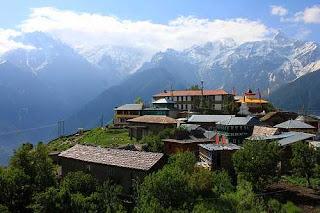 Beautiful Village Namgya.