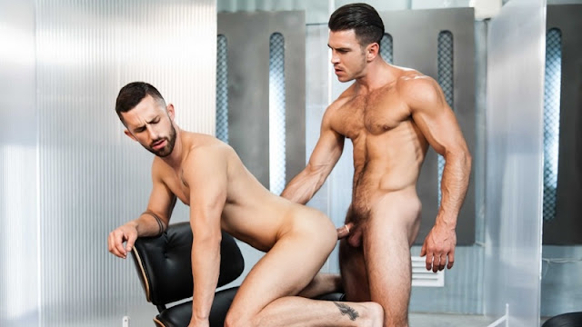 Ex-Machina : A Gay XXX Parody Part 3 – Griffin Barrows, Sunny Colucci