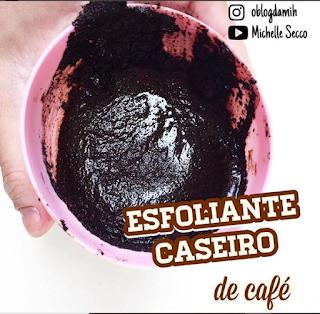 Esfoliante Caseiro Para Pele Com Café