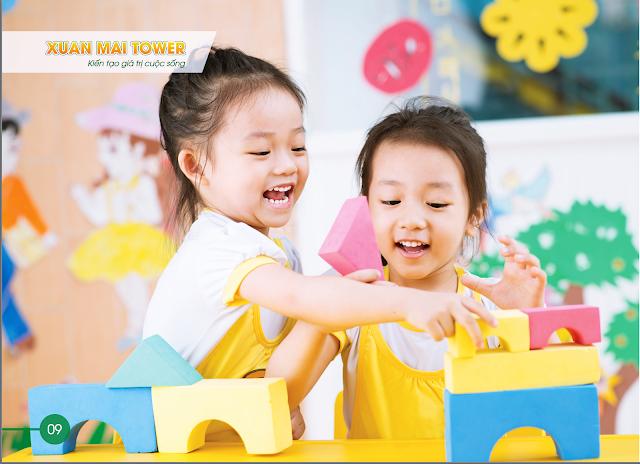 Xuân Mai Thanh Hóa - không gian hiện đại cho sự phát triển của trẻ nhỏ