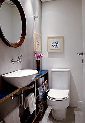 blog de decorao  Arquitrecos Banheiros estreitos