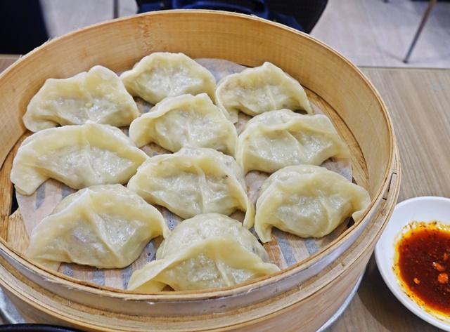 傳祥園素食蒸餃~台中西屯區素食熱炒