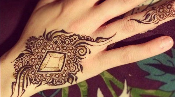 Mehndi Designs Hands Arabic Latest : Latest arabic mehendi designs of with pictures makeup