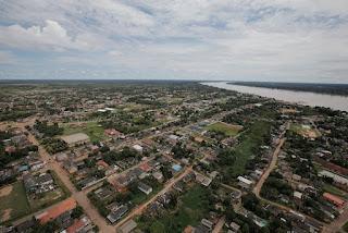 Humaitá, Humaitá-Am, Vista aerea de Humaitá, municipio de Humaitá, Amazonas, interior,