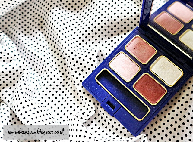 Inez Pattaya Eyeshadow Quad Palette