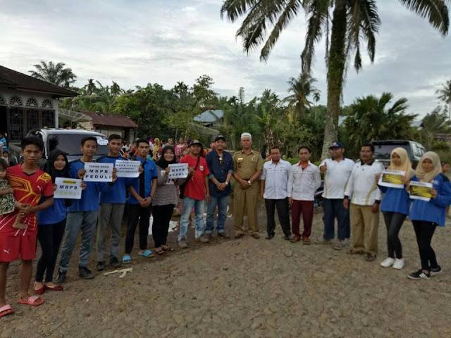 Tim MRPB Peduli Menyalurkan Bantuan Kepada Korban Banjir