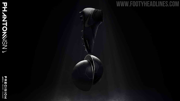 factory price 93948 7607a Blackout Nike Phantom Vision Elite Stealth Ops Boots Released