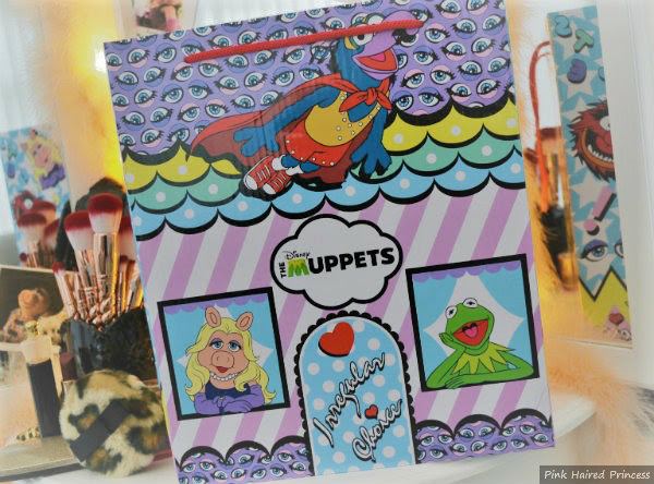 front view of Irregular Choice Disney Muppets Shoe Box
