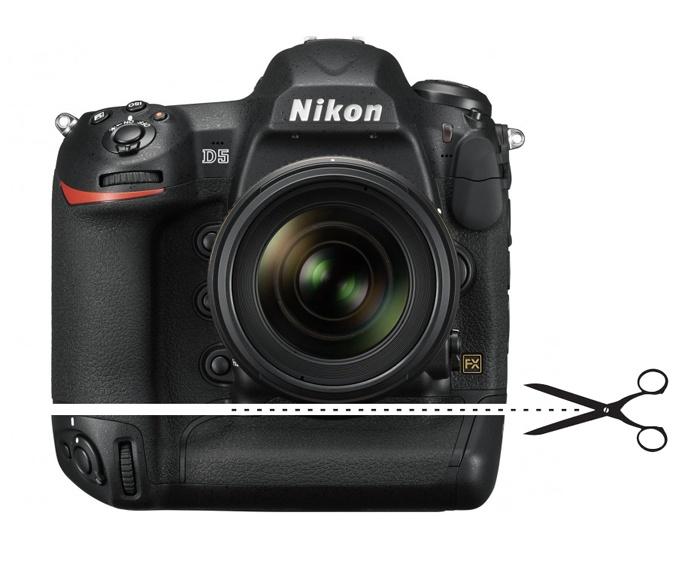 Отрезать лишнее у Nikon D5