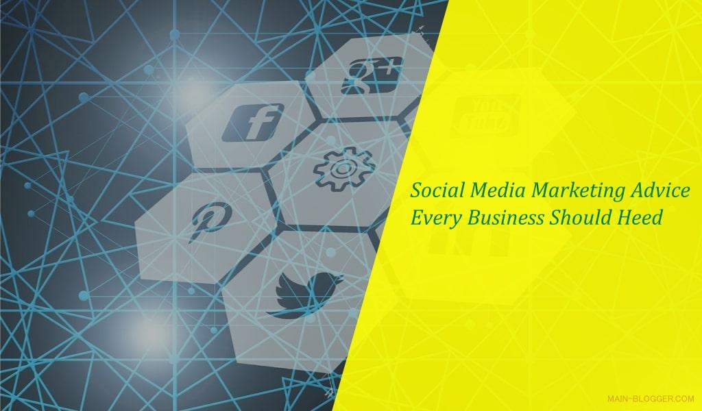 social media marketing for blog business