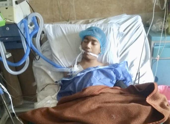 Muhammad Ikram Masih Dirawat Intensif Di Icu Rumah Sakit El Sefarat Keluarga Mahasiswa Aceh Kma Mesir