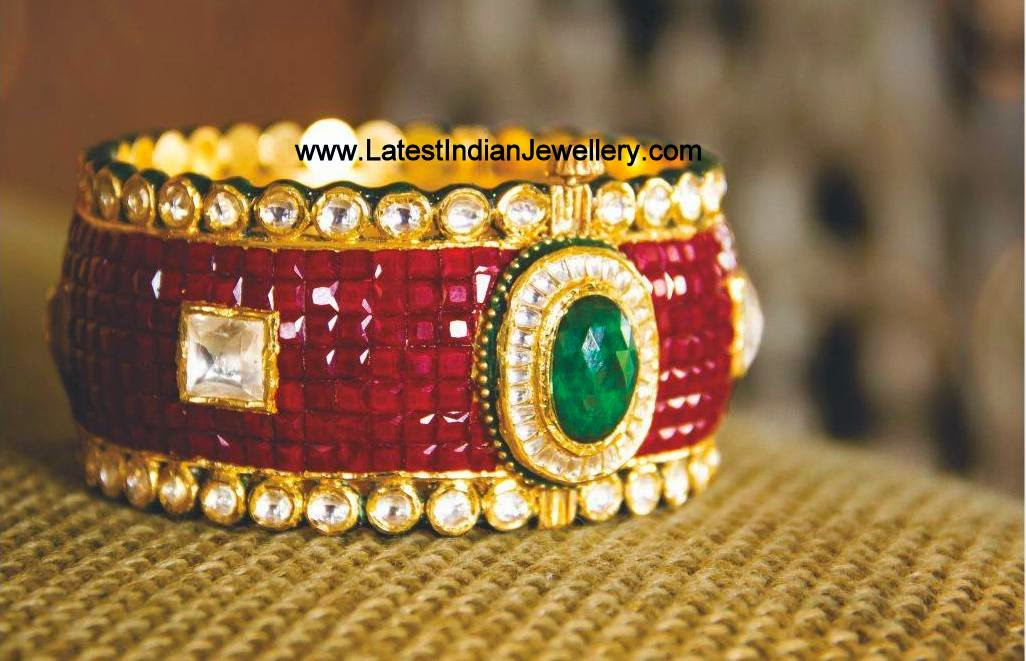 Ruby Master Piece Bangle