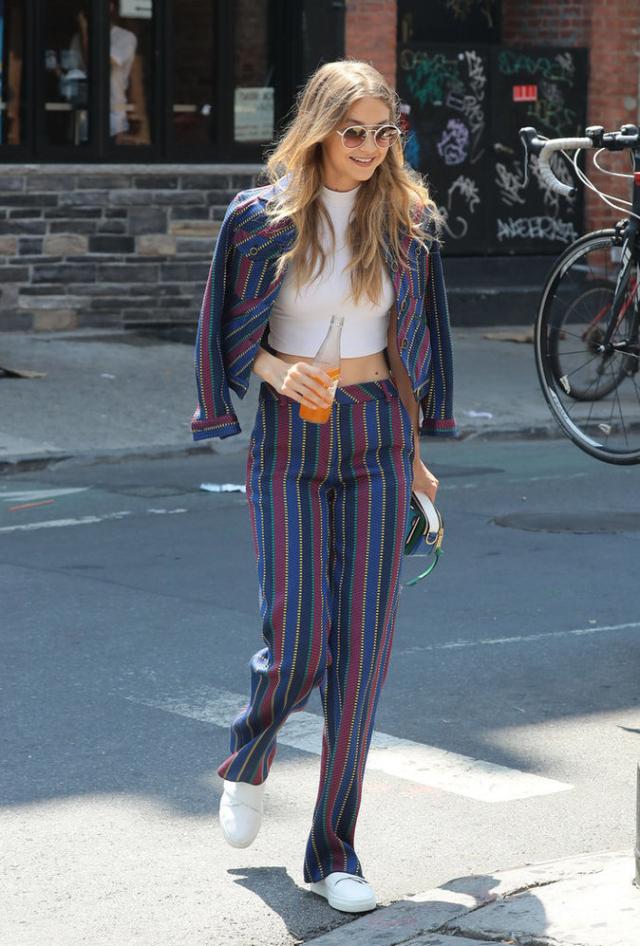 Gigi Hadid Celebrity Street Style