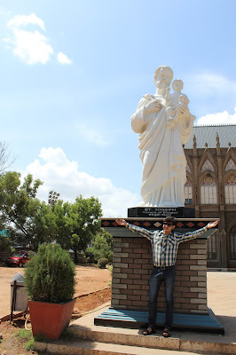 A trip to Philomena Church Mysore - Rishabh Datta