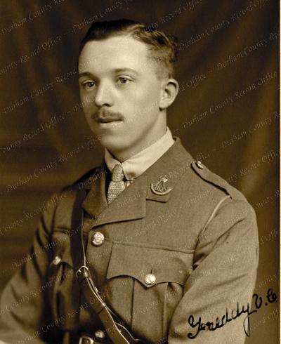 Temporary Second Lieutenant Frederick Youens (D/DLI 7/801/8)