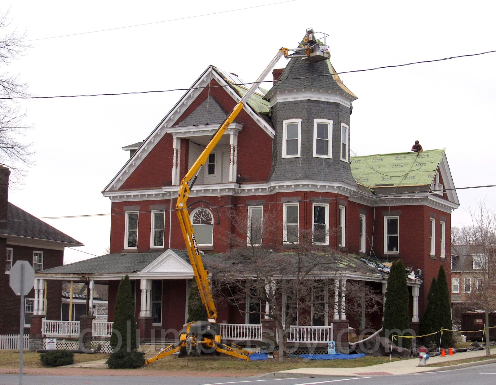 COLUMBIA SPY Former funeral home s a new roof