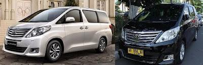 Toyota Alphard menjadi Taksi