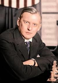 El excampeón mundial de ajedrez Alejandro Alekhine