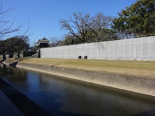 熊本地震後の熊本城