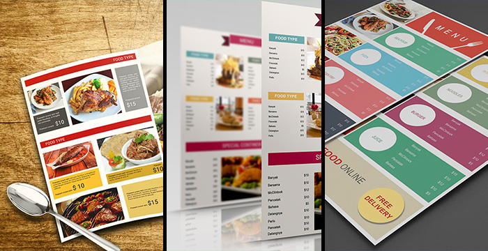 Free Restaurant Menu Templates in AI and PSD Format DezignHD – Free Food Menu Template