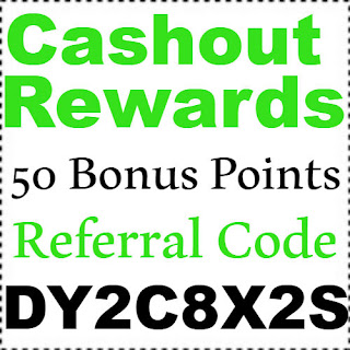 Get 50 Bonus Points Cashout App Referral Code, Invite Code & Sign Up Bonus