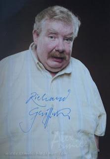 Richard Griffiths autograf, autograph, Vernon Dursley Harry Potter