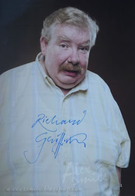 Richard Griffiths autograf, autograph, Vernon Dursley Harry Potter