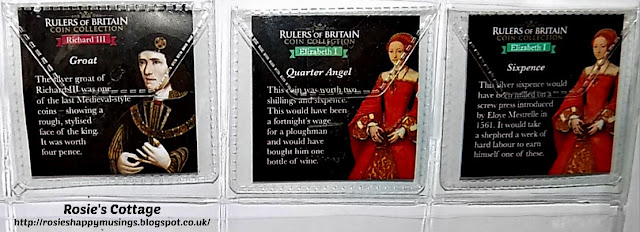 Rulers of Britain Coins Packaging
