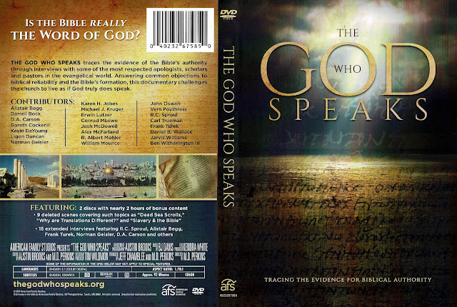 The God Who Speaks DVD Cover