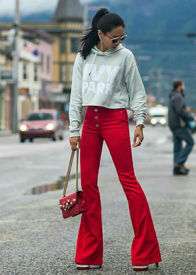 Looks vermelhos - outfits