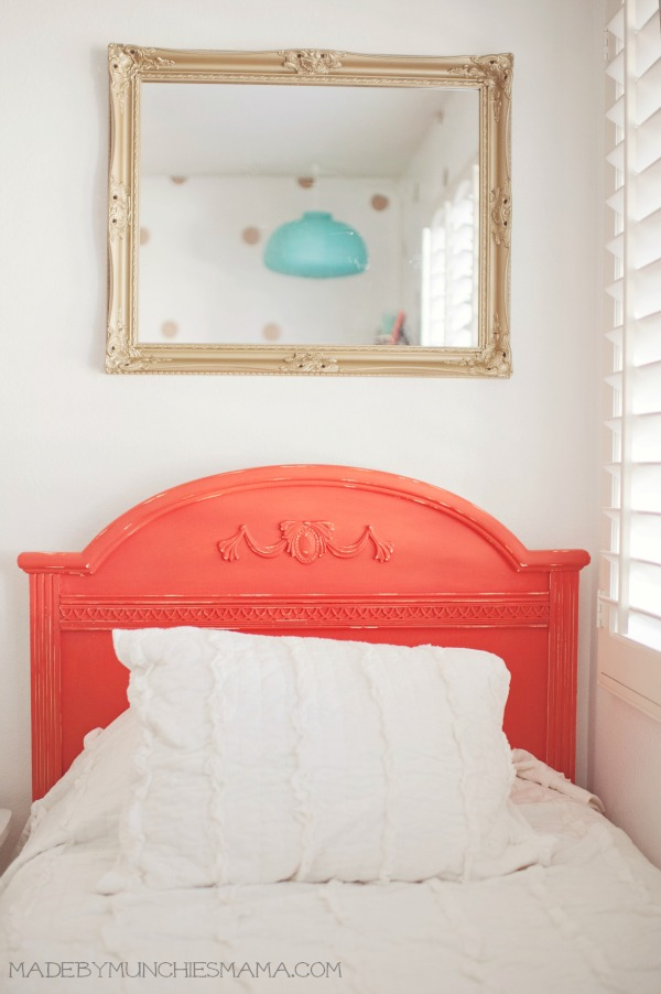 Do It Yourself Home Design: Mint And Coral Nursery