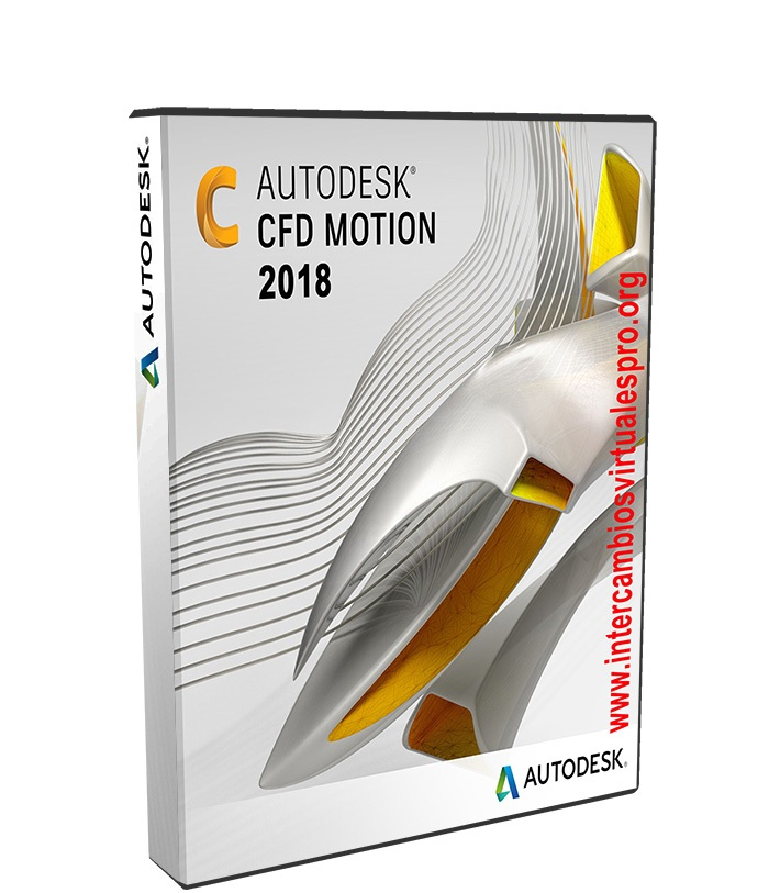 Autodesk Simulation CFD 2018 Motion poster box cover