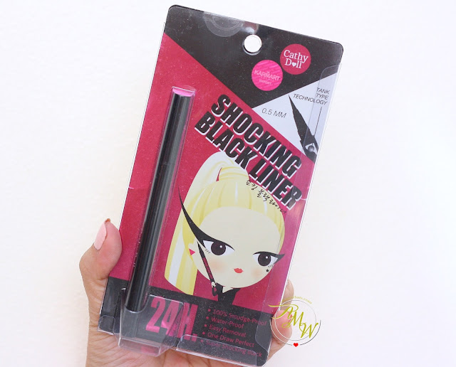 a photo of Cathy Doll Shocking Black Liner 24H