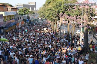 IMG 9984 - 13ª Parada do Orgulho LGBT Contagem reuniu milhares de pessoas