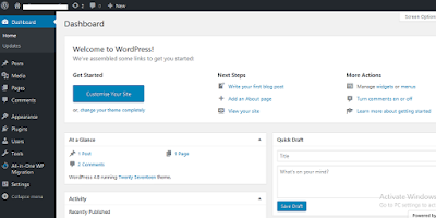 Tutorial membuat blog wordpress selfhosting gratis17