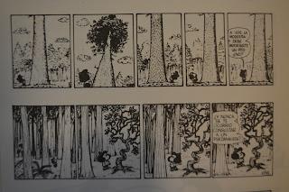 Mafalda de Quino y árboles