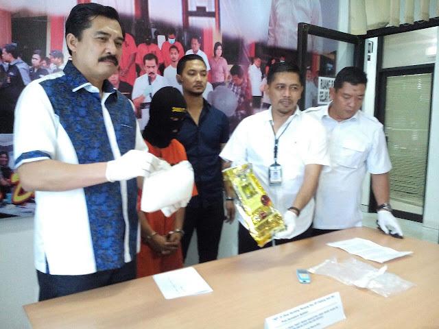 Bandar Narkoba Warga SP Padang Tertangkap