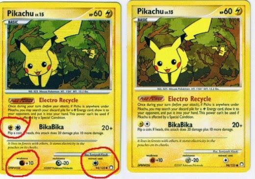 Printable Pokemon Card Back
