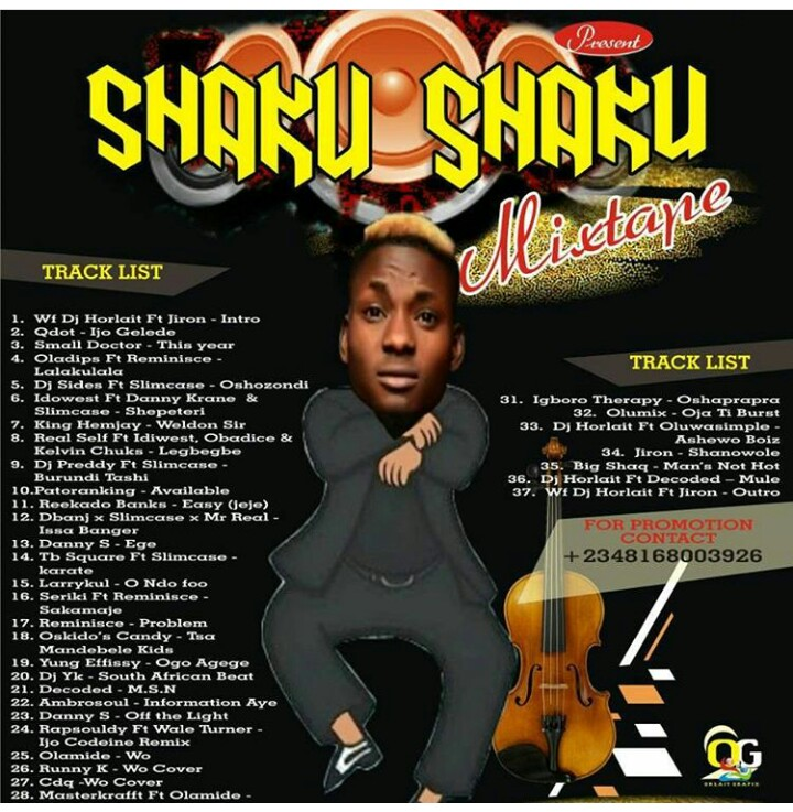 Mixtape]: Dj Horlait - Shaku Shaku Mixtape - Welcome to