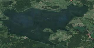 Jezioro Śniardwy - polodowcowe (Google Maps)