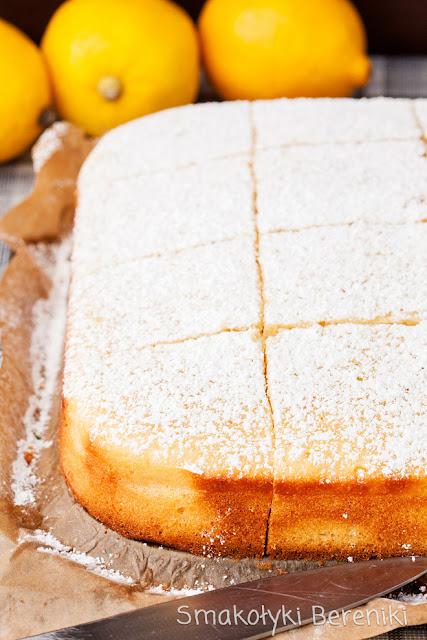 Ciasto cytrynowe prosty przepis