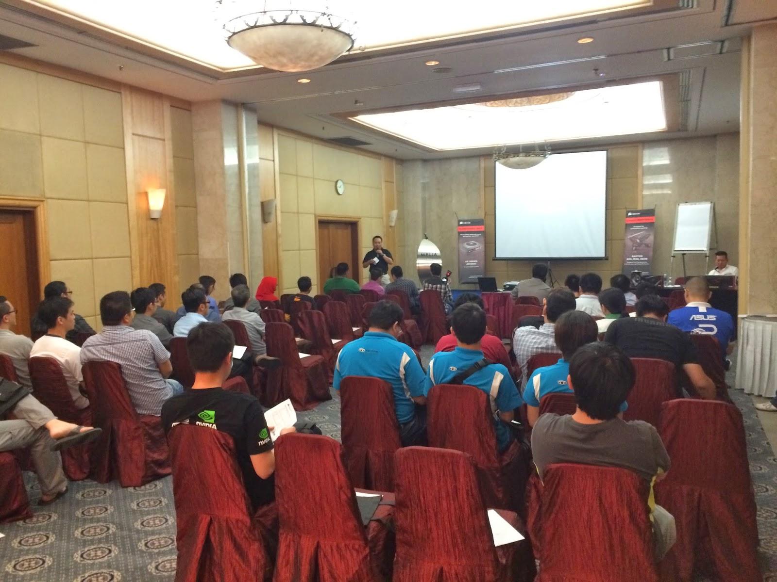 Coverage of Corsair Event @Melia Kuala Lumpur 18