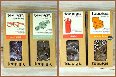 Teapigs valentines bundles sweet ginger chilli chai
