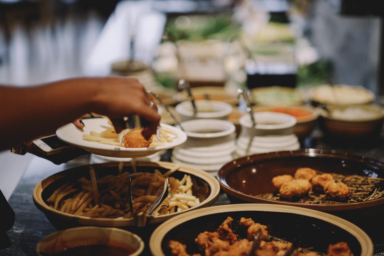 Shabu shabu on yasai pik avenue jakarta eatandtreats for Food bar pik